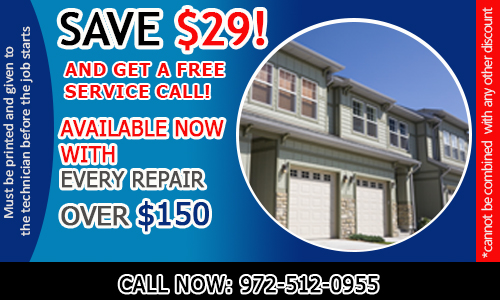 Garage Door Repair Carrollton Coupon - Download Now!